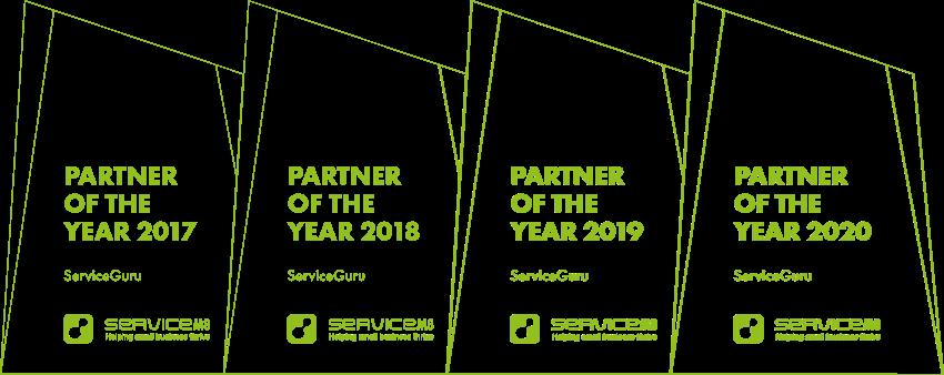 ServiceM8 partner awards