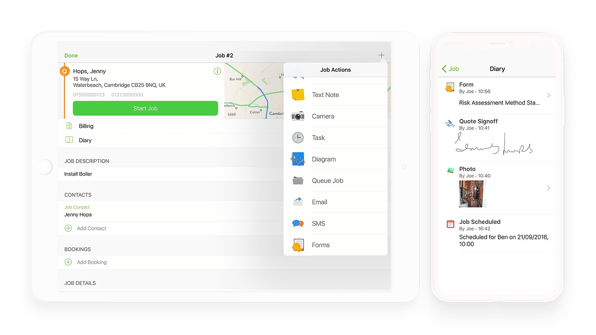 ServiceM8 iOS